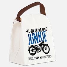 Adrenaline Junkie Canvas Lunch Bag