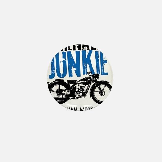 Adrenaline Junkie Mini Button