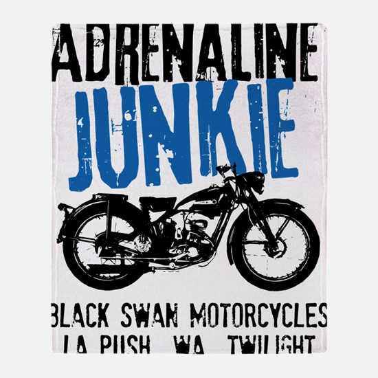 Adrenaline Junkie Throw Blanket
