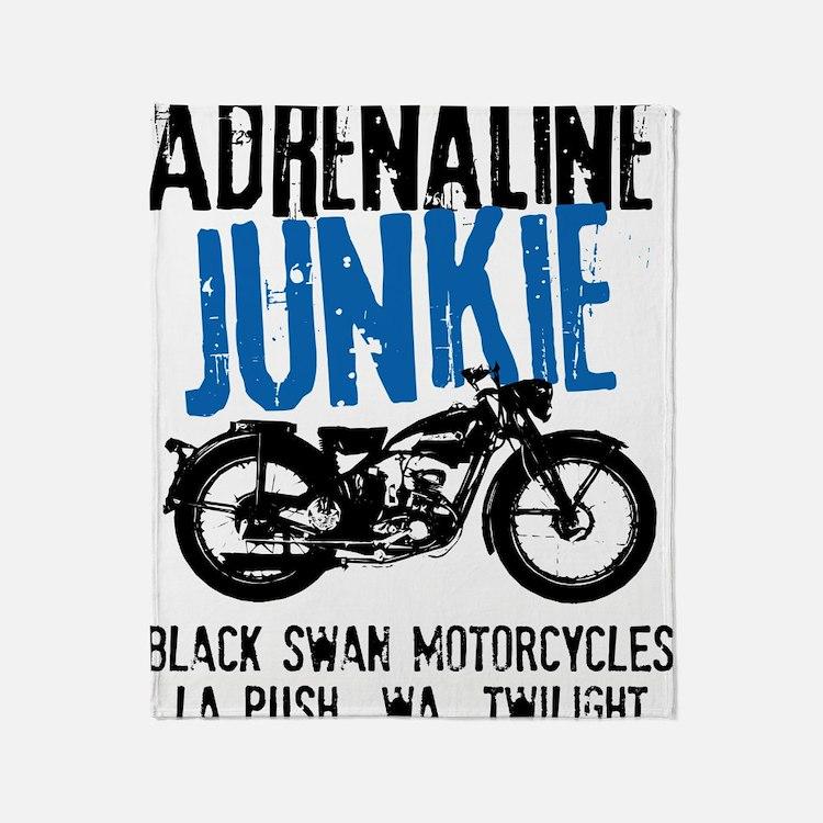 Adrenaline Junkie Throw Blanket