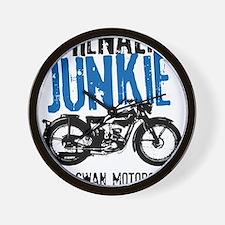 Adrenaline Junkie Wall Clock