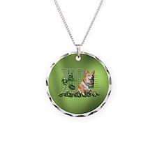 Corgi_Lucky_Charm_Circle Necklace