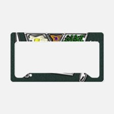 4-TV Dinner Tray Cooked Froze License Plate Holder