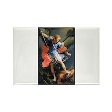 St. Michael the Archangel Rectangle Magnet