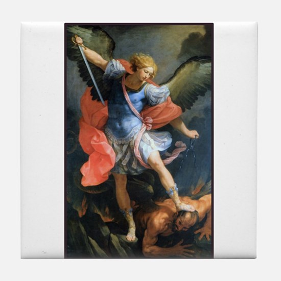 St. Michael the Archangel Tile Coaster