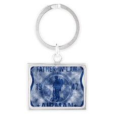 FATHER LAW Landscape Keychain