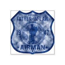 """FATHER LAW Square Sticker 3"""" x 3"""""""