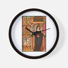 St. Scholastica Wall Clock