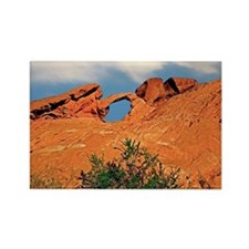 Valley of Fire Arch Rock Postcard Rectangle Magnet