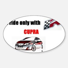 cupra_r1 Sticker (Oval)