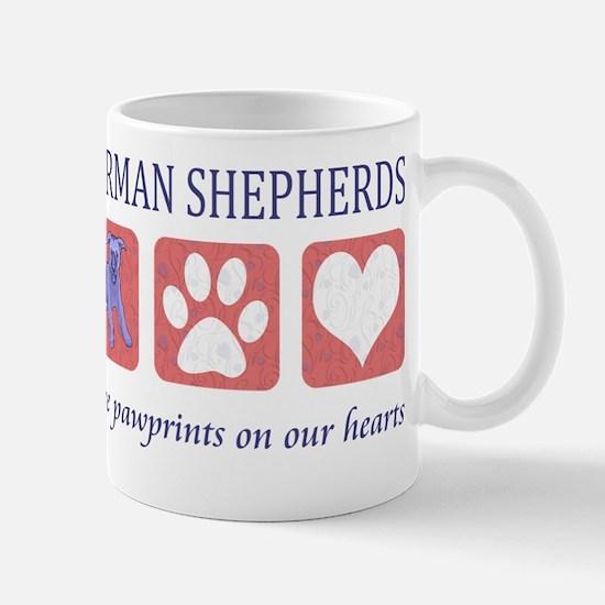 FIN-german-shepherds-pawprints Mug