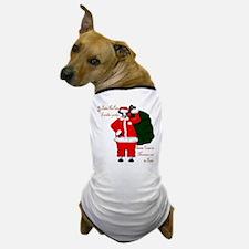 Santa Cows (Santa Claus) Dog T-Shirt