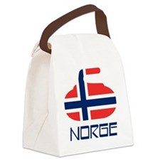 4-curlingNOb Canvas Lunch Bag