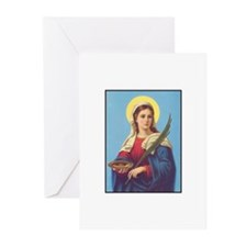 St. Lucy Greeting Cards (Pk of 10)