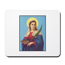 St. Lucy Mousepad