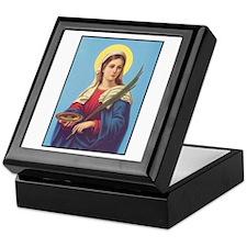 St. Lucy Keepsake Box