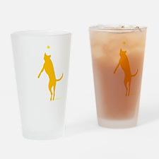 10x10 morefun csue blk Drinking Glass