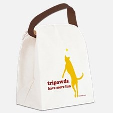 10x10 morefun csue wht Canvas Lunch Bag