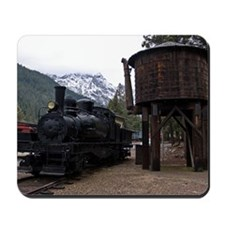 (6) shay locomotive  tower Mousepad