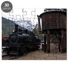 (6) shay locomotive  tower Puzzle