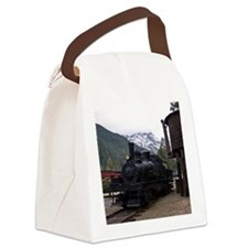 (15) shay locomotive  tower Canvas Lunch Bag