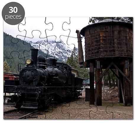 (11) shay locomotive tower Puzzle