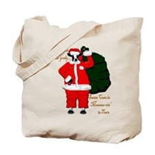 Santa Cows (Santa Claus) Tote Bag