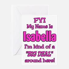 Isabella Greeting Card