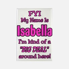 Isabella Rectangle Magnet