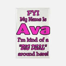 Ava Rectangle Magnet