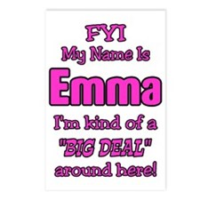 Emma Postcards (Package of 8)