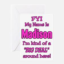 Madison Greeting Card