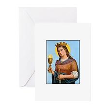 St. Barbara Greeting Cards (Pk of 10)