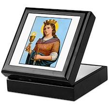 St. Barbara Keepsake Box