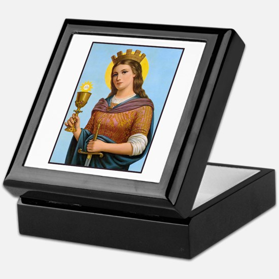 St. Barbara Keepsake Box