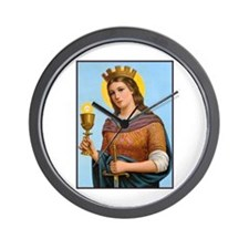 St. Barbara Wall Clock