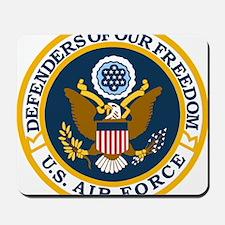 USAF-Defenders-Blue-White-Gold-2 Mousepad