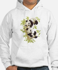 Pandas Playing In A Tree Hoodie