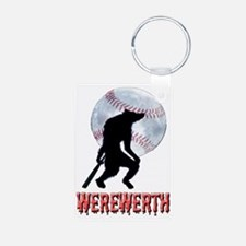 WEREwerth Aluminum Photo Keychain