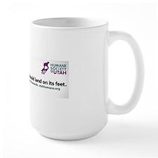 land on feet Mug