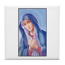 Sorrowful Mary Tile Coaster
