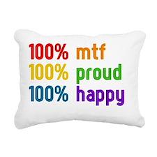 100% mtf Rectangular Canvas Pillow