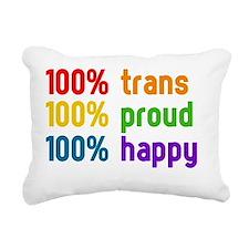 100% trans Rectangular Canvas Pillow