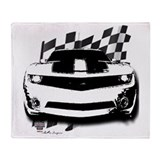 Chevy camaro Fleece Blankets
