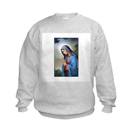 Mary Queen of Sorrows Kids Sweatshirt