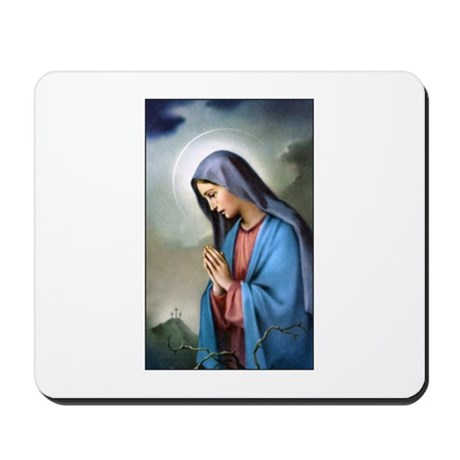 Mary Queen of Sorrows Mousepad