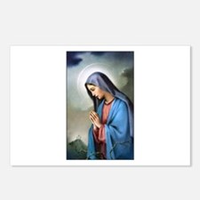 Mary Queen of Sorrows Postcards (Package of 8)