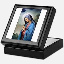Mary Queen of Sorrows Keepsake Box