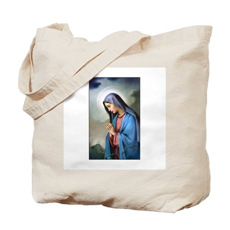 Mary Queen of Sorrows Tote Bag