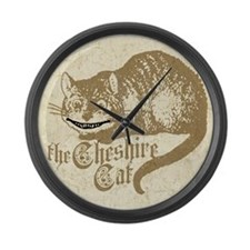 cheshire-cat_13-5x18 Large Wall Clock
